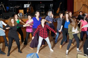 Limmud Flashdancing